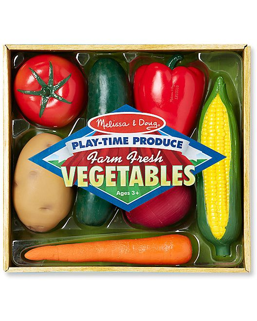Melissa   Doug Play-Time Produce Vegetables  Play 7eb010e2a