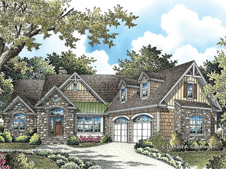 Eplans Ranch House Plan Craftsman Enhanced Ranch 1822