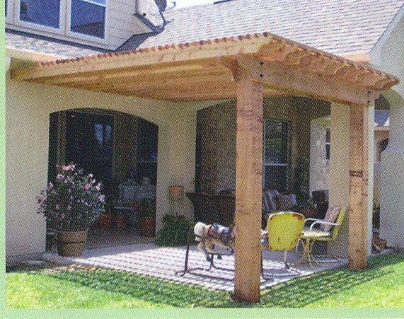 Arbor Idea For Over Back Patio And Back Door/sidewalk Area