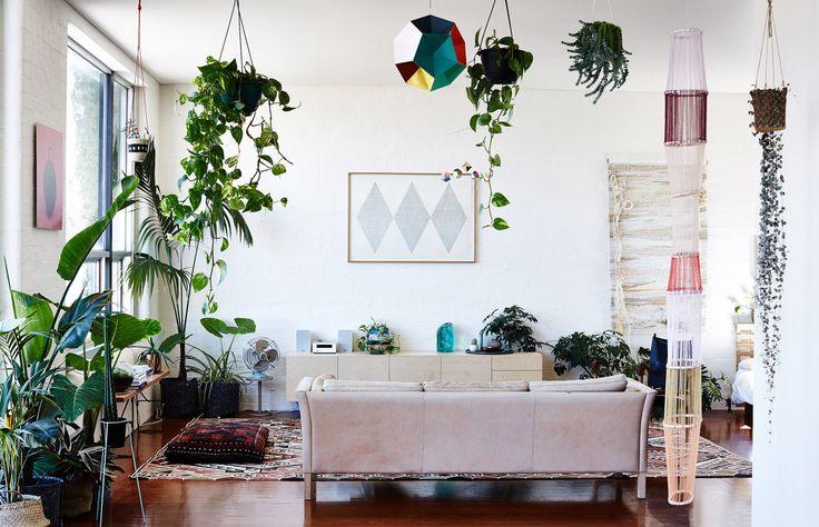 Bienvenue dans un appartement scandinave bohème