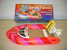 Vintage-AIRFIX plasty petra bateau gonflable bateau dans Box - 70er/80er ans-rar