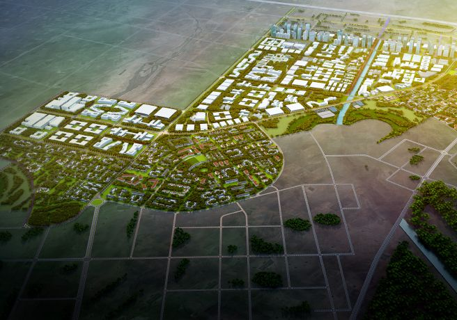 Dholera is a poster city in India's first generation of smart and sustainable cities