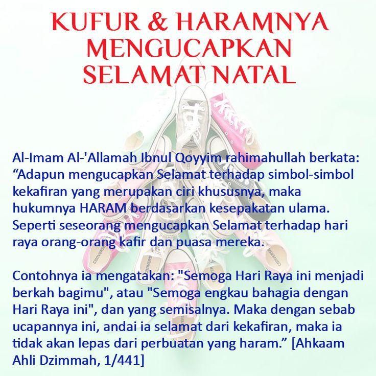 http://nasihatsahabat.com/selamat-natal-artinya-selamat-beribadah-kepada-salib-patutkah-seorang-muslim-mengucapkannya/ #nasihatsahabat #mutiarasunnah #motivasiIslami #petuahulama #hadist #hadits #nasihatulama #fatwaulama #akhlak #akhlaq #sunnah  #aqidah #akidah #salafiyah #Muslimah #adabIslami # #ManhajSalaf #Alhaq #dakwahsunnah #Islam #sunnah #tauhid #dakwahtauhid #kufur #kafir #perayaanorangkafir #natalan #hariNatal #hukummengucapkan #selamatnatal #merrychristmas