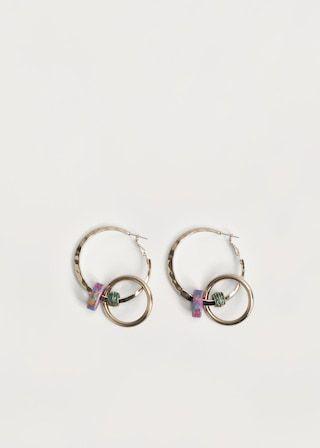 Σκουλαρίκια κρίκοι χάντρες REF. 83020174 - AMANDA 9,99€ · New Now · Χρώμα: χρυσό