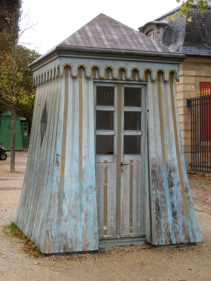 Garden shed in France