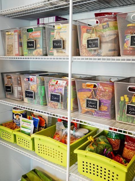 Organization and Design Ideas for Storage in the Kitchen Pantry | DIY Kitchen Design Ideas - Kitchen Cabinets, Islands, Backsplashes | DIY