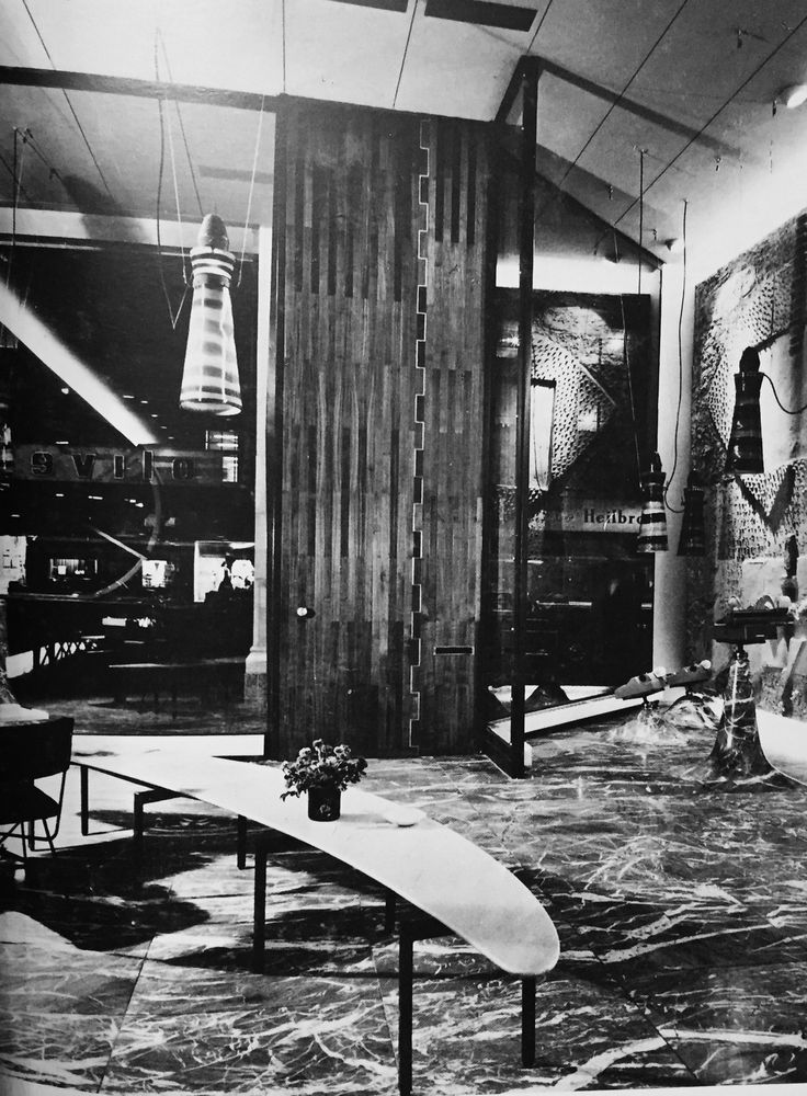 Studio BBPR Olivetti store New York 1954
