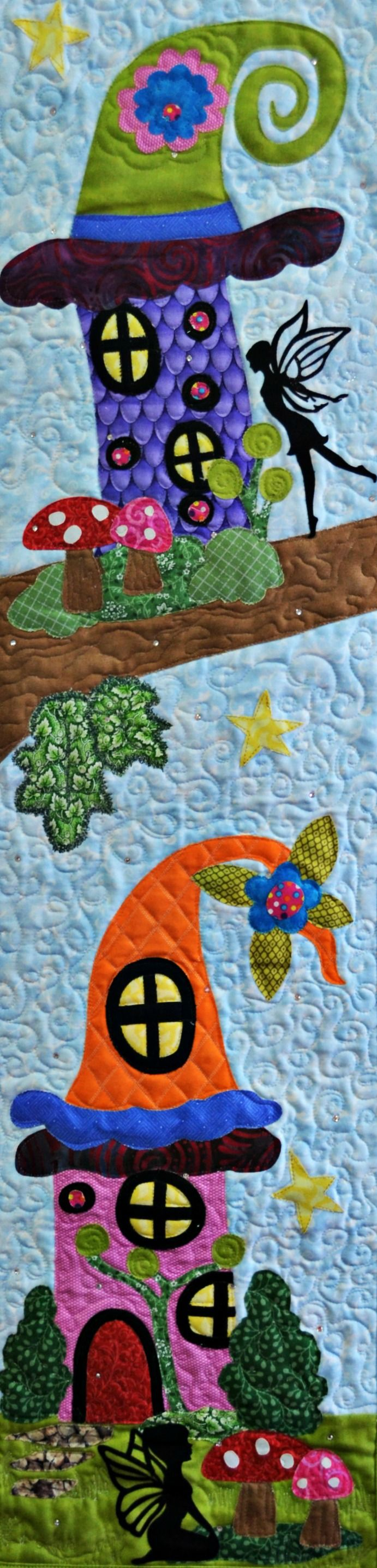 """""""Even Fairies Need Homes"""" 2016 Row by Row Quilt Kit - Thumbnail 1"""