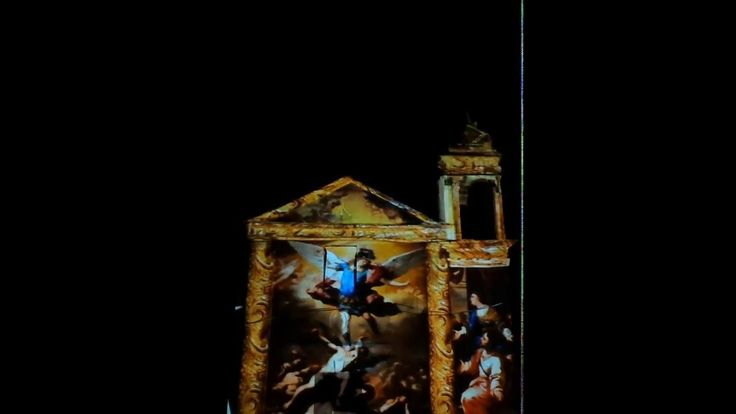 Projection Mapping 3d San Michele Lucca Sicula