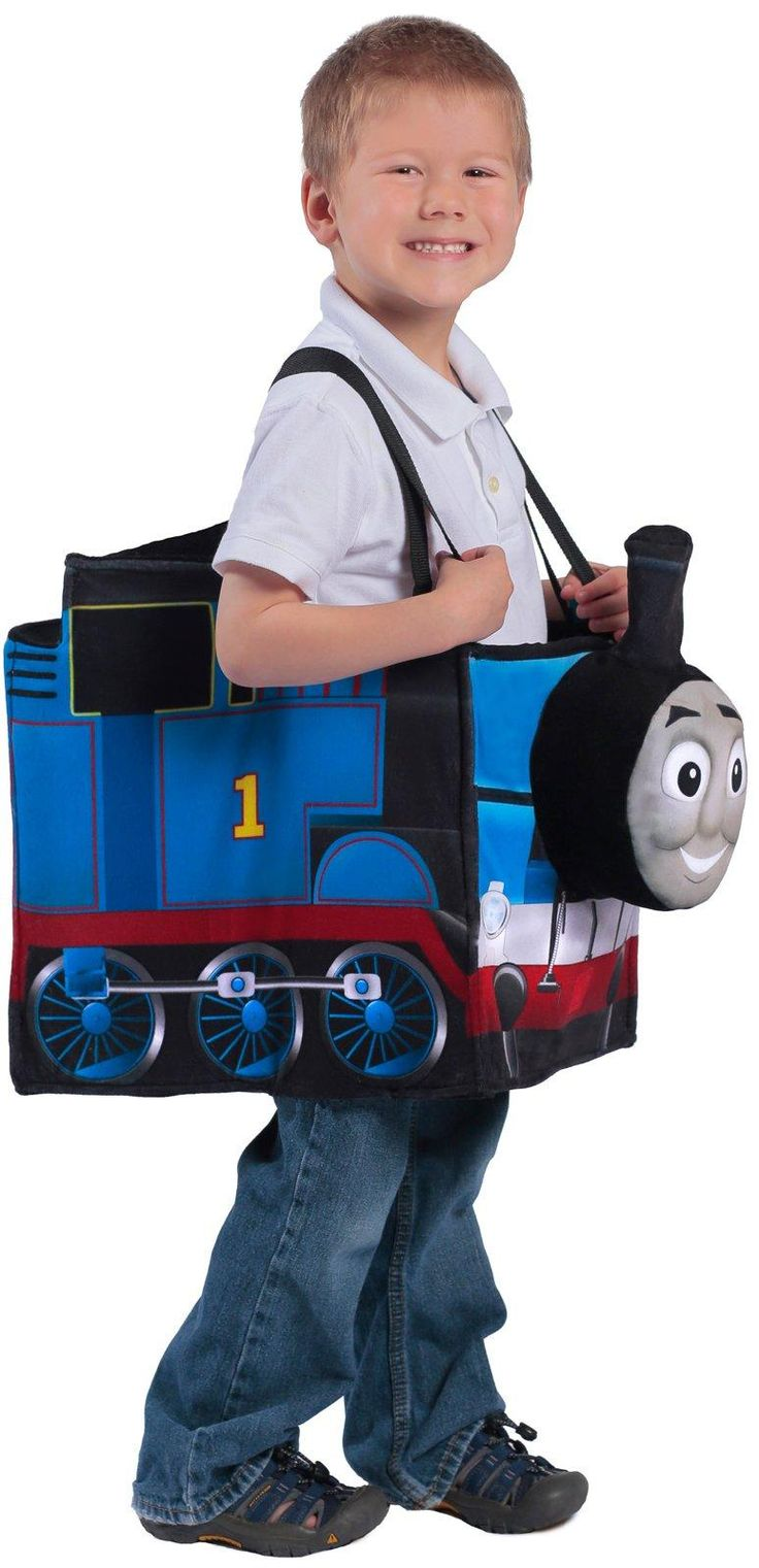 Thomas the Tank Engine Ride in Train Costume for Kids from CostumeExpress.com