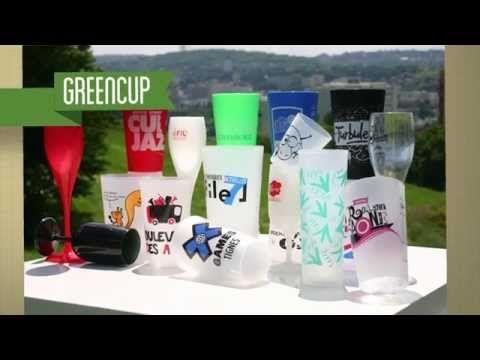 Gobelet réutilisable personnalisé, Greencup : les gobelets à vos couleurs