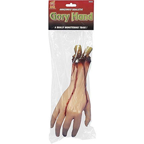 Smiffy's 12-inch Hand Severed, Gory and Rubber Smiffy's https://www.amazon.co.uk/dp/B003BGIN3G/ref=cm_sw_r_pi_dp_x_pD1hybXS3JPPH