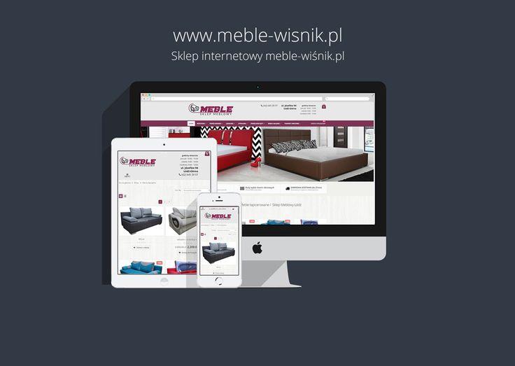 Strona internetowa meble-wisnik.pl