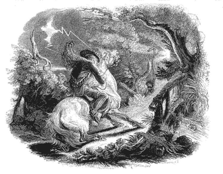The witches and warlocks of Tam O shanter.