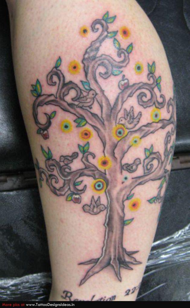tree of life tatoos | Tatto design of Tree Of Life Tattoos tree of life - TattooDesignsIdeas ...