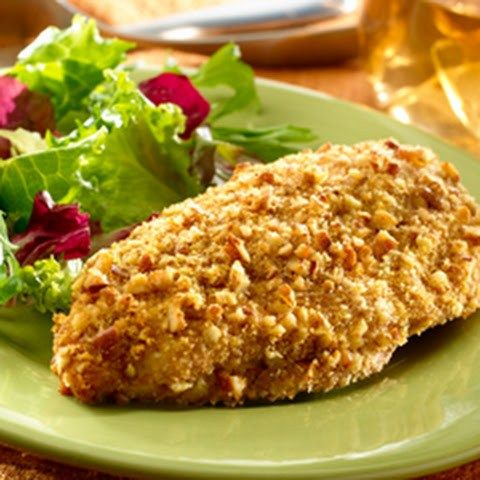 Biggest Loser Pecan-Crusted Chicken – Healthy To Fit