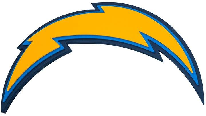 Los Angeles Chargers 3d Fan Foam Logo Sign Los Angeles Chargers Logo San Diego Chargers Logo Los Angeles Chargers