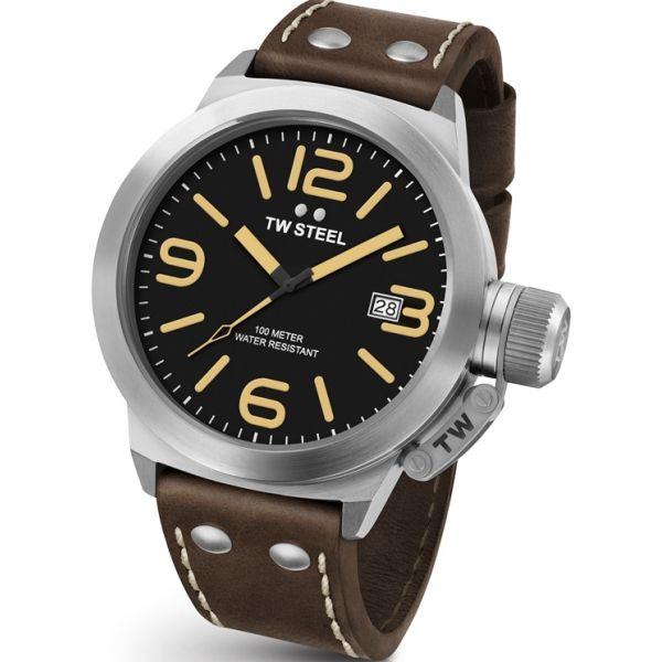 TW Steel Canteen Leather CS31- 45mm