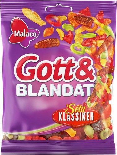 Gott & Blandat Söta Klassiker. Sweet candies!