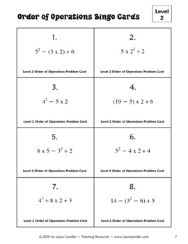 109 Best images about Education-Algebra 1-Order of Operations on ...