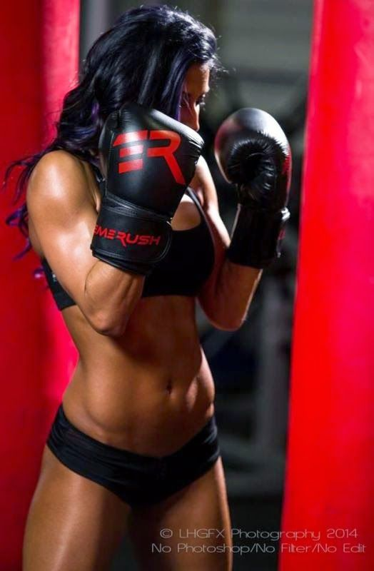 Christina Vargas Boxing | Female Fitness | Pinterest