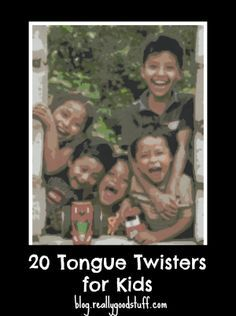 20 Awesome tongue twisters for kids - some of these are really tricky!  (Photo by AmslerPix/flickr)