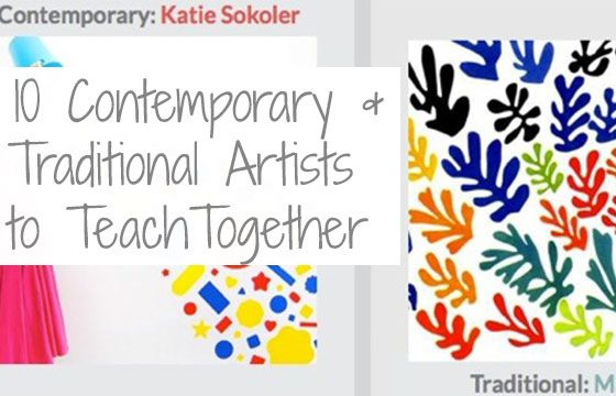 The Top 10 Contemporary Artists to Teach Alongside Traditional Artists - The Art of Education