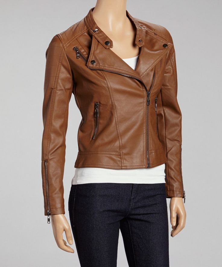 Brown Leather Jacket Women | Best Leather Jackets For Women ...