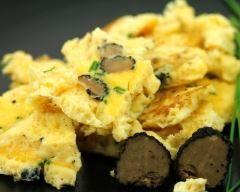 omelette aux truffes, croyais-moi c'est très bon