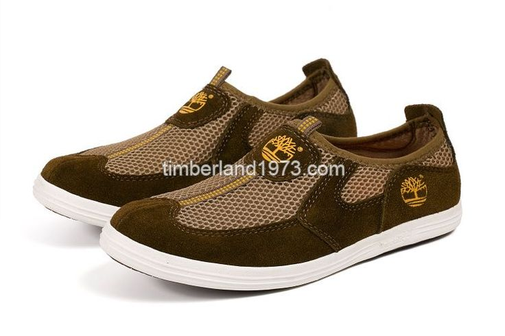 2017 New Timberland Men's Earthkeepers Slip-On Lightweight Breathable Mesh Sneaker-Brown $ 79.00