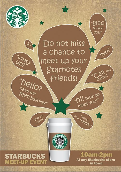STARBUCK promotion campaign on Behance