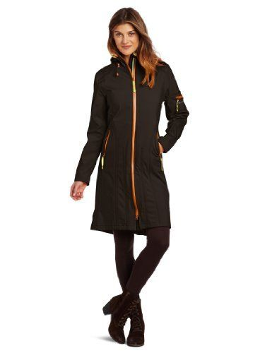Good  ILSE JACOBSEN Women's Rain 6b Soft Shell Coat, Black, 36