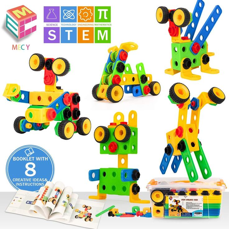 MECY STEM Toys | Educational Engineering with a Sturdy ...
