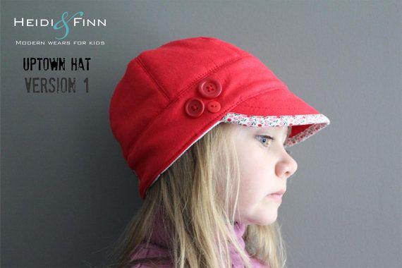 Uptown chapeau patron et tutoriel 12M-teen facile par heidiandfinn
