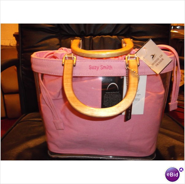 Suzy Smith Bag in a Bag Handbag. BNWT Pink £15.00