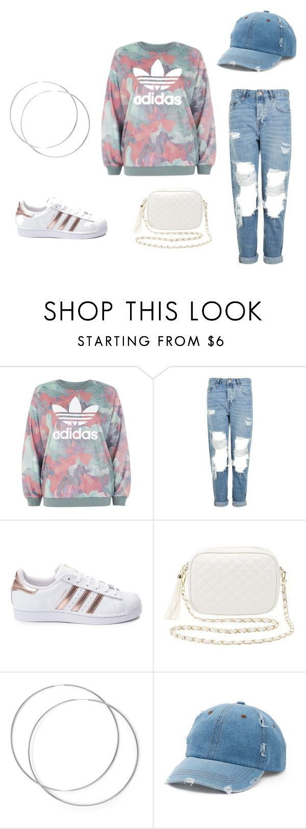 """""""my lazy sundays"""" by libni8256 on Polyvore featuring adidas, Topshop, Charlotte Russe and Mudd"""