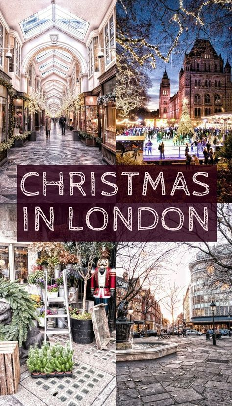Weihnachten in London: was zu sehen ist wohin es g…