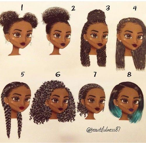 Image result for how to style scalp short natural hair