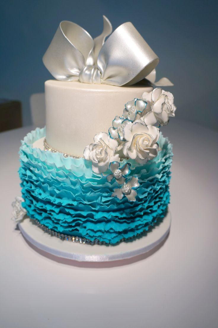 Present Happy Birthday Cake