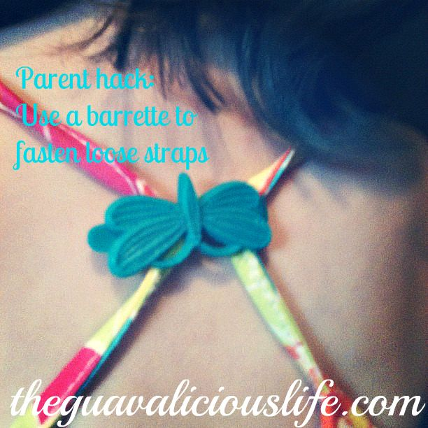 No more loose straps!: Hair Barrettes, Loose Tanks Tops, Little Girls, Parents Tips, Parents Hacks, Loo Tanks Tops, Great Ideas, Life Hacks, Hair Clip