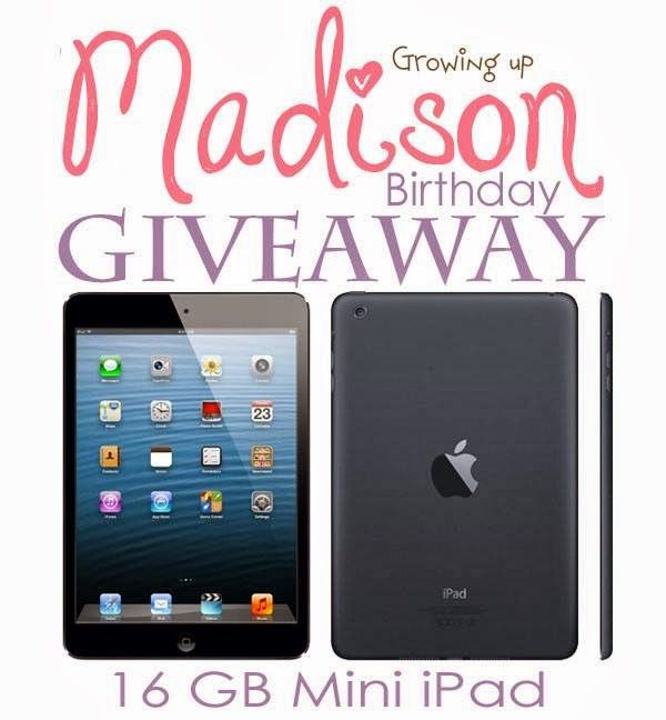 16GB iPad Mini Birthday #Giveaway - Woman of Many Roles