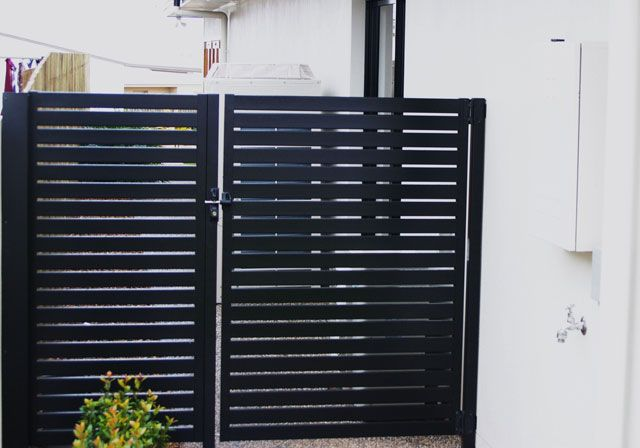 Colorbond Gate - for sides and similar for small front?