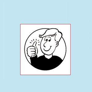 In de werkbladen van Schrijven leer je zo! wordt deze positieve-feedbackstrategie consequent toegepast. Het pictogram nodigt het kind uit het mooiste resultaat te kiezen. Schrijven leer je zo! kiest voor een opbouwende en positieve benadering die kinderen structureel stimuleert hun eigen competentie te verwerven.
