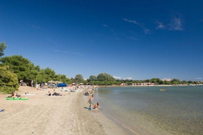 Der Bijeca Strand in Medulin. Foto: TZ Medulin/Kroati.de