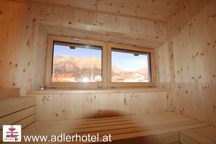Sauna mit herrlichem Blick auf Nauders und die umliegenden Berge