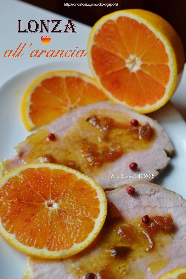 Lonza di maiale all'arancia e pepe rosa