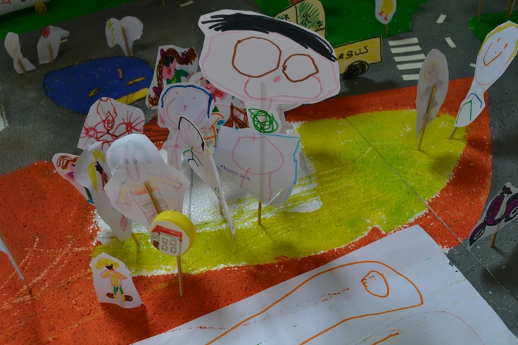 People from a special city!  Playroom curated by ARTincorpo, County Library in La Maddalena island ( OT ), Italy.