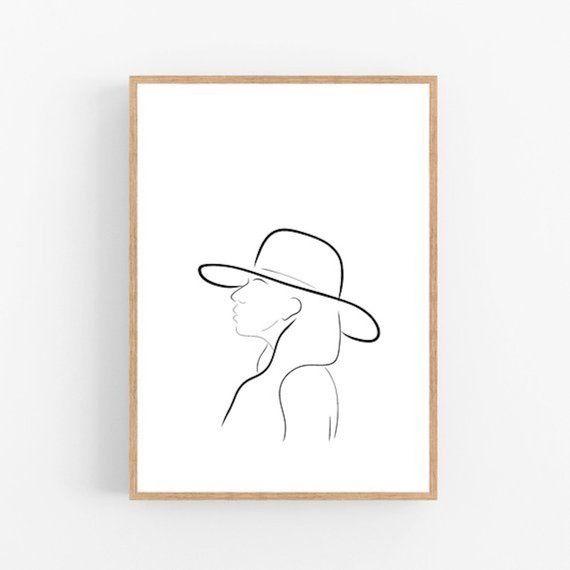 Lady Gaga line art, Gaga print, Abstract Celebrity wall decor, Minimalist art, Modern room decor, Joanne printable wall art, Music Drawing – Kelsey