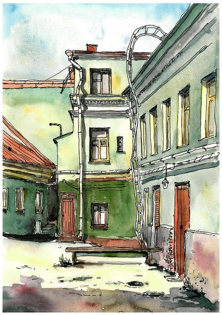 courtyard in Vyborg | Flickr - Photo Sharing!
