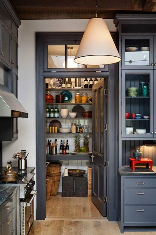 Pretty kitchen pantry